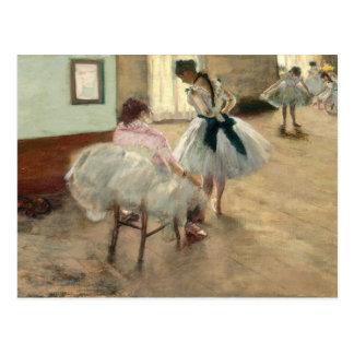 Pierre A Renoir   The Dance Lesson Postcard