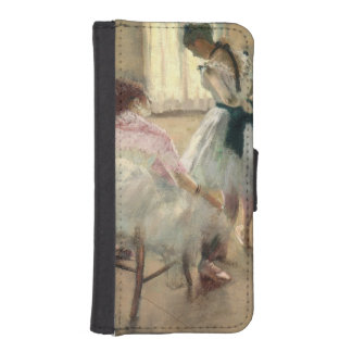 Pierre A Renoir | The Dance Lesson Wallet Phone Case For iPhone SE/5/5s