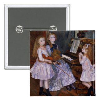 Pierre A Renoir | The Daughters of Catulle Mendes Button