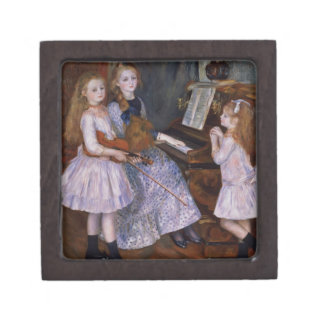 Pierre A Renoir | The Daughters of Catulle Mendes Keepsake Box