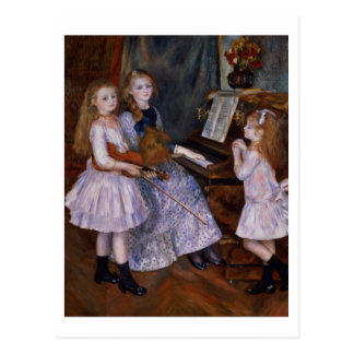 Pierre A Renoir | The Daughters of Catulle Mendes Postcard