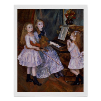 Pierre A Renoir | The Daughters of Catulle Mendes Poster
