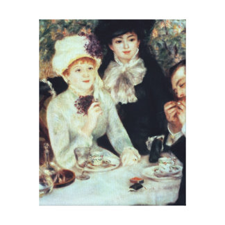 Pierre A Renoir | The End of Luncheon Canvas Print