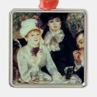 Pierre A Renoir | The End of Luncheon Metal Ornament
