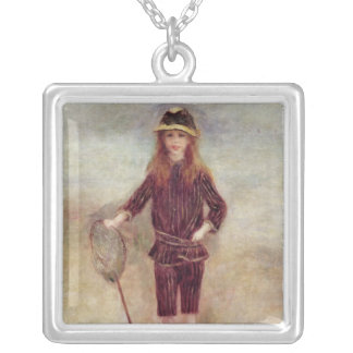 Pierre A Renoir | The Little Fisherwoman Silver Plated Necklace