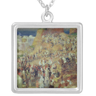 Pierre A Renoir | The Mosque, or Arab Festival Silver Plated Necklace