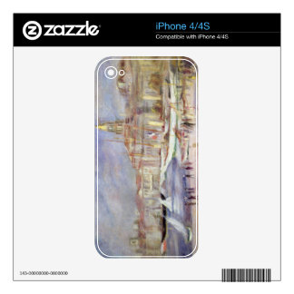Pierre A Renoir | The Old Port of Marseilles Decals For iPhone 4S