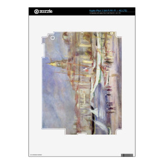 Pierre A Renoir | The Old Port of Marseilles iPad 3 Skin