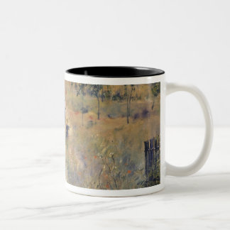 Pierre A Renoir   The Path through the Long Grass Two-Tone Coffee Mug