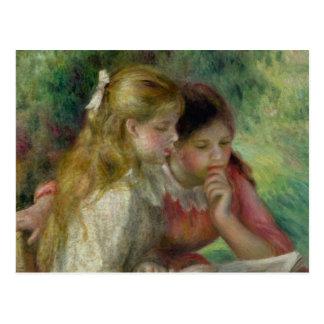 Pierre A Renoir | The Reading Postcard