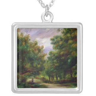 Pierre A Renoir | The Road near Cagnes Silver Plated Necklace