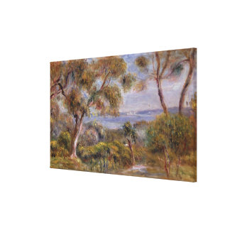Pierre A Renoir | The Sea at Cagnes Canvas Print