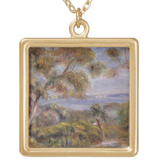 Pierre A Renoir | The Sea at Cagnes Gold Plated Necklace