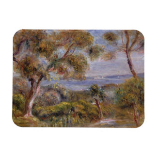 Pierre A Renoir | The Sea at Cagnes Rectangular Photo Magnet