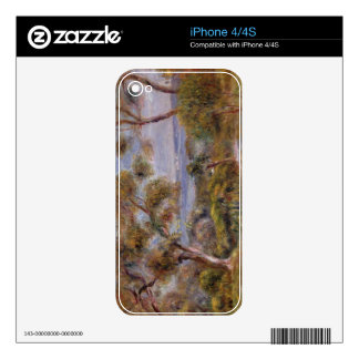 Pierre A Renoir | The Sea at Cagnes Skin For iPhone 4S