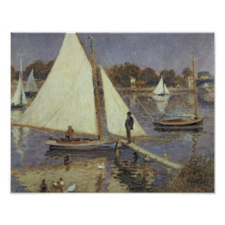 Pierre A Renoir | The Seine at Argenteuil Poster