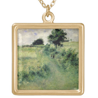 Pierre A Renoir | The Watering-place Gold Plated Necklace