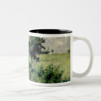 Pierre A Renoir   The Watering-place Two-Tone Coffee Mug