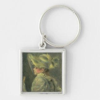 Pierre A Renoir | The White Hat Keychain