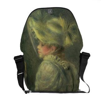 Pierre A Renoir | The White Hat Messenger Bag