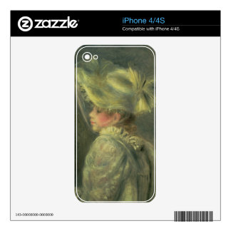 Pierre A Renoir | The White Hat Skin For iPhone 4S