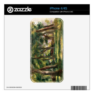Pierre A Renoir | Trees Decal For The iPhone 4S