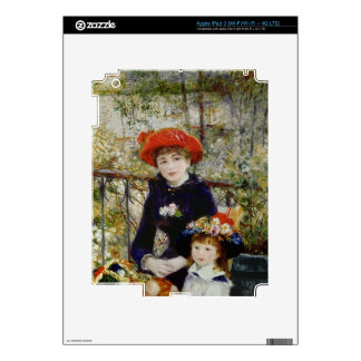 Pierre A Renoir | Two Sisters, or On The Terrace Decal For iPad 3