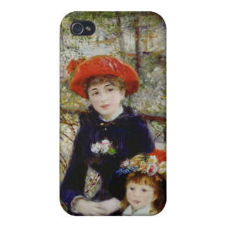 Pierre A Renoir | Two Sisters, or On The Terrace iPhone 4/4S Case