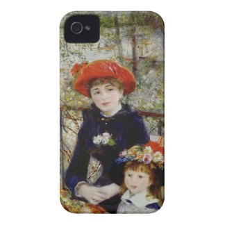 Pierre A Renoir | Two Sisters, or On The Terrace iPhone 4 Case