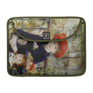 Pierre A Renoir | Two Sisters, or On The Terrace Sleeve For MacBook Pro