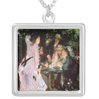 Pierre A Renoir | Under the Trees, de la Galette Silver Plated Necklace