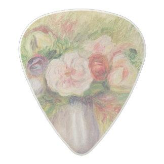Pierre A Renoir   Vase of Flowers Acetal Guitar Pick