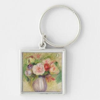 Pierre A Renoir | Vase of Flowers Keychain
