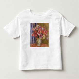 Pierre A Renoir | Vase of Tulips and Anemones Toddler T-shirt