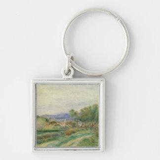 Pierre A Renoir | View of La Seyne, Provence Keychain