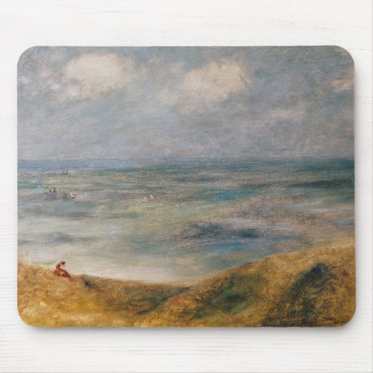 Pierre A Renoir | View of the Sea, Guernsey Mouse Pad