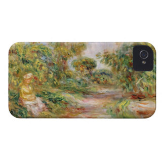 Pierre A Renoir | Woman in a Landscape iPhone 4 Cover