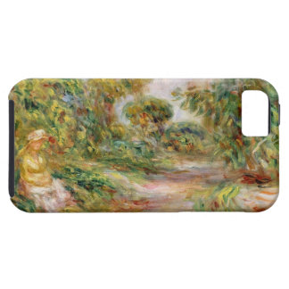 Pierre A Renoir | Woman in a Landscape iPhone SE/5/5s Case
