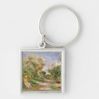 Pierre A Renoir | Woman in a Landscape Keychain