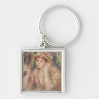Pierre A Renoir | Woman with a Mirror Keychain