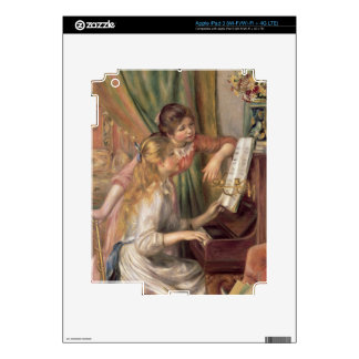 Pierre A Renoir | Young Girls at the Piano iPad 3 Skin