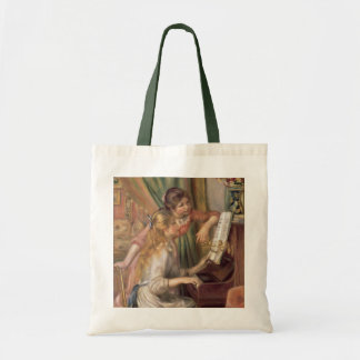 Pierre A Renoir | Young Girls at the Piano Tote Bag