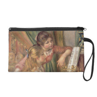 Pierre A Renoir | Young Girls at the Piano Wristlet