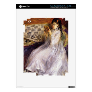 Pierre A Renoir | Young Woman Reading iPad 3 Skin