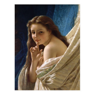 Pierre Auguste Cot Young Woman CC0268 Postcard