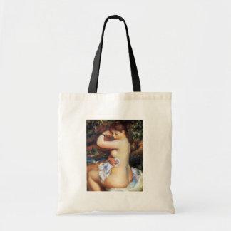 Pierre Auguste Renoir - After The Bath Tote Bag