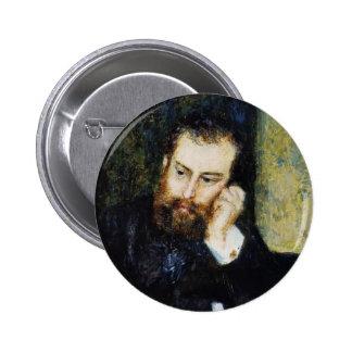 Pierre-Auguste Renoir- Alfred Sisley Pin