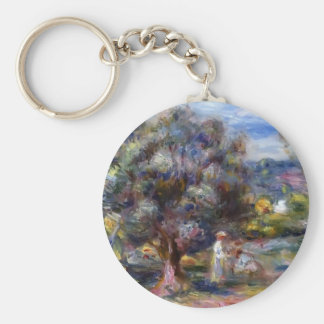 Pierre-Auguste Renoir- Aloe, Picking at Cagnes Key Chains