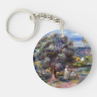Pierre-Auguste Renoir- Aloe, Picking at Cagnes Key Chain