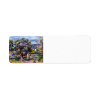 Pierre-Auguste Renoir- Aloe, Picking at Cagnes Return Address Labels